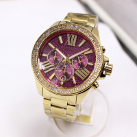 Fashion Lady Diamond Watches Stainless Steel Wrist Watches