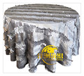 free shipping Taffeta petal table cloth