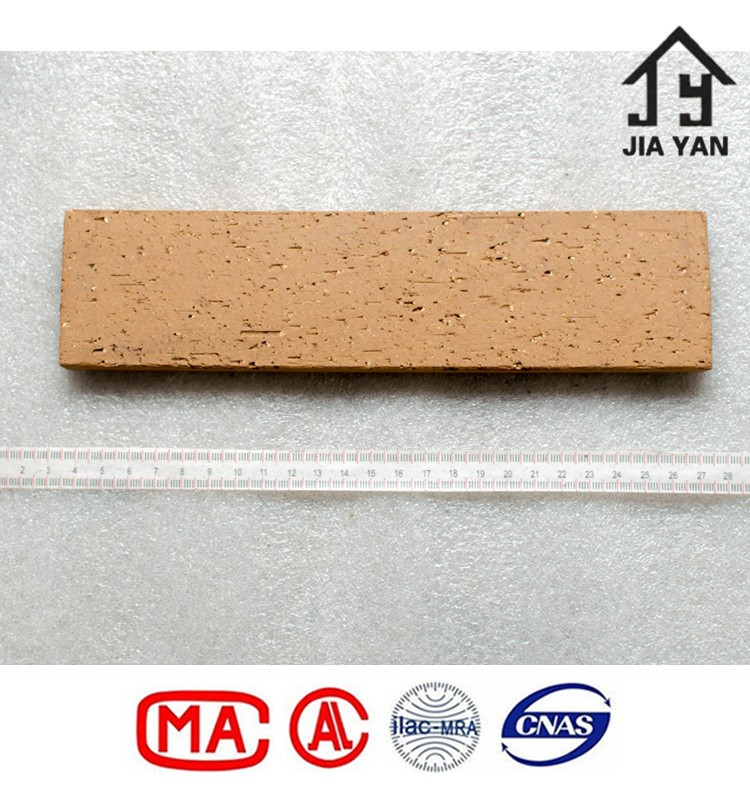 Modern type decorating exterior fire rated clay wall tiles