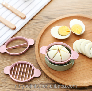 Cooking Tools 3in1 Cut Multifunction Kitchen Egg Slicer Cutter Mold Flower Edges Tools Kitchen Accessory