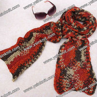 fashion colorful 100 acrylic LONG scarfs for women(selling)