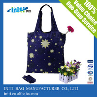 New products 2014 flower reusable shopping bag folding