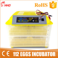 China top supplier CE Approved automatic 100 egg incubator in dubai YZ-112