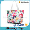 Elegant Fashionable flower printing ladies design tote bag
