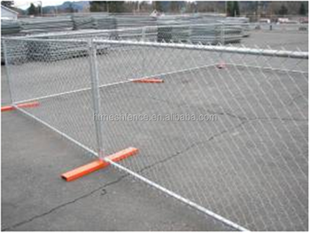 6 ft Tall Chain Link Temporary Construction Fence