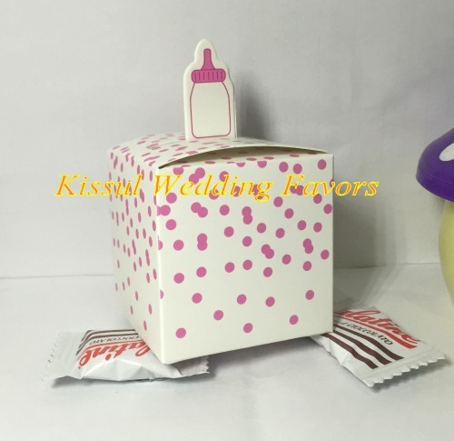 Little Prince Kraft Baby Shower Favor boxes and Candy box for Baby Birthday Gift box