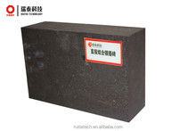 High quality direct bonded magnesia-chrome refractory kiln using curved fire bricks