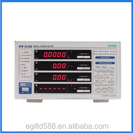 PF310 Single-phase Digital AC And DC Power Meter Parameter Tester Harmonic And Integral Measurement