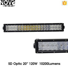Wholesale international truck headlight 120W Curve LED light bar for Truck Jeep