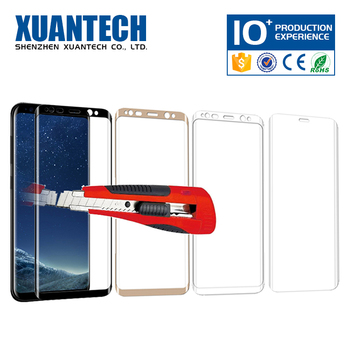 ODM supplied 4d tempered glass screen protector, 3d tempered glass, screen protector roll material