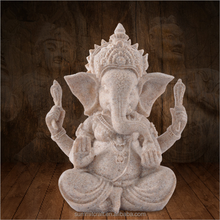 Wedding gift resin sandstone hindu god lord ganesha idol figurine