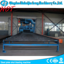Q6930 steel plate and section shot blasting machine