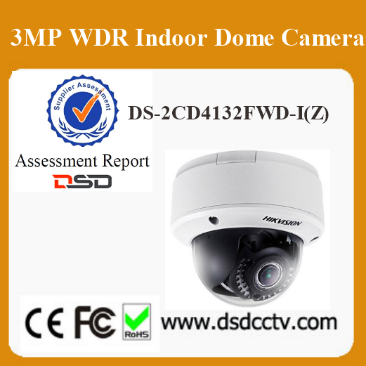 CCTV Hikvision 3MP Indoor Dome Camera DS-2CD4132FWD-IZ 30m IR