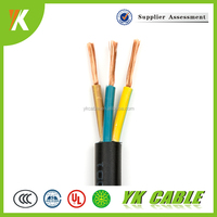 450/750V 0.6/1KV 3 core power cable wire color code