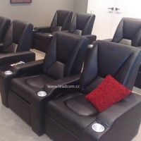 LEADCOM luxury leather electric home cinema seats (LS-805)