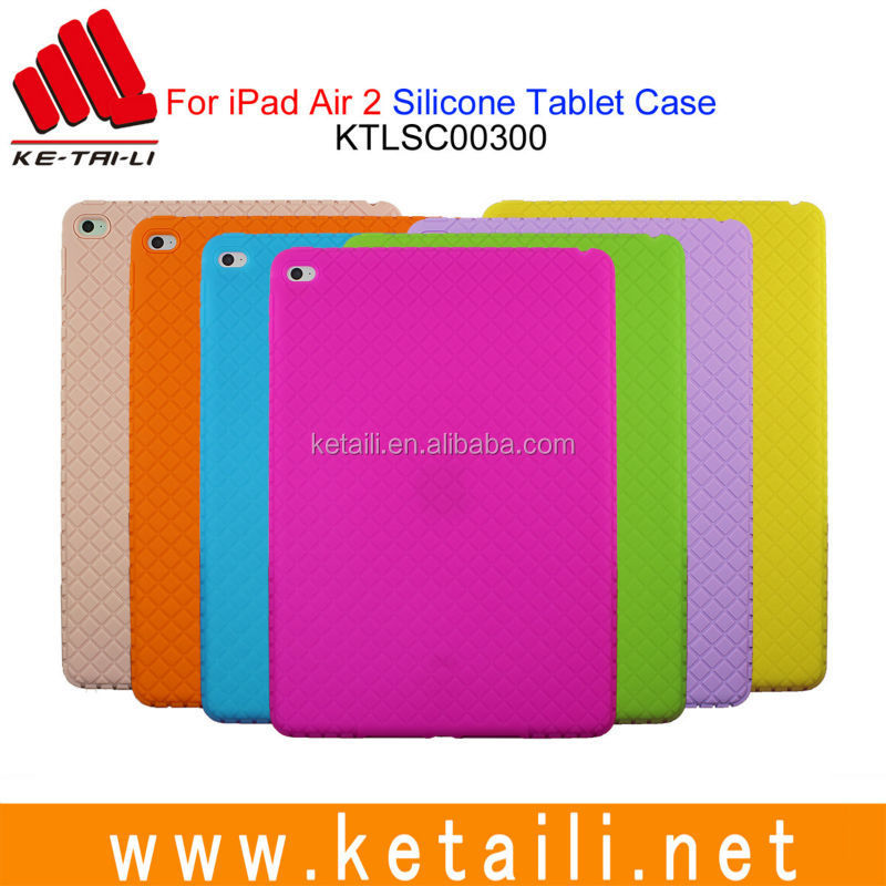 For 7 9.7 10.1 iPad mini/Air/Pro custom design wholesale price silicone rubber protective tablet laptop case cover sleeve maker