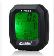 Waterproof Blue And Green Bike Odometer Bicycle Computer Speed Meter
