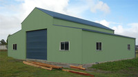 movable modular customized panel garden shed prefab steel house