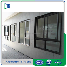 2016 latest window grill design Aluminum sliding window section made in China Factory