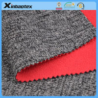 10%W 20%Poly 70%Acrylic Sweater Knitting fabric+TPU Film+polar fleece/micro fleece