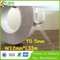 1mm 0.5mm Heat Resistant High Adhesion Bonding Tape
