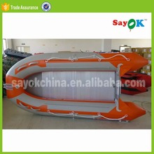 new cheap 10 people rib-420 zebec hovercraft inflatable house boat