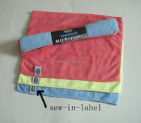 China Supplier Best Selling Microfiber Car Cleaning Cloth, Microfiber Car towel