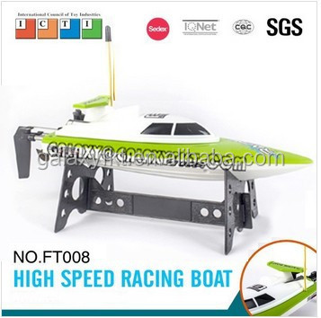 FT008 electric rc toy battery operate remote control boat for sale