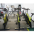 High quality weight lifting trainer equipment plastic adjustable dumbbell set