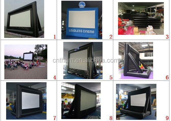 inflatable movie screen, inflatable TV screen, giant inflatable screen