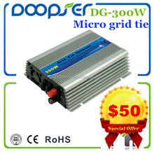300w on grid tie power inverter micro inverter connect with solar panel directly
