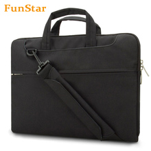 Waterproof Fabric Laptop Shoulder Bag Business Laptop Sleeve Bag Case for Pad