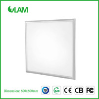 40w 600x600 Aluminum Frame Profile White Led Panel Light