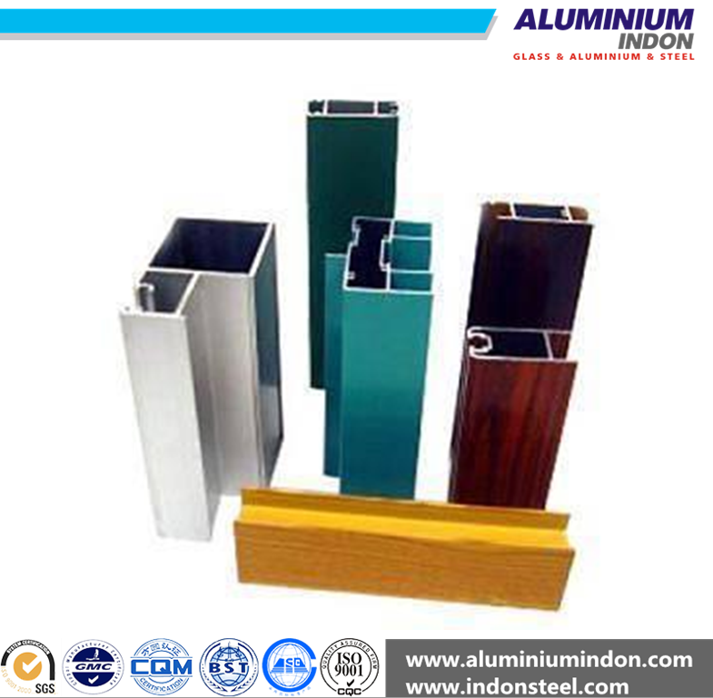 China standard and SGS aluminum profile extrude for gate