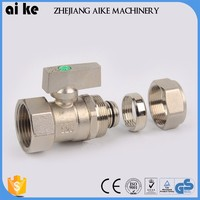 wholesale compression fitting for copper pipe brass components high quality brass sleeve busing customized