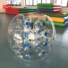 Attractive PVC inflatable water roller water floating ball toys for sale