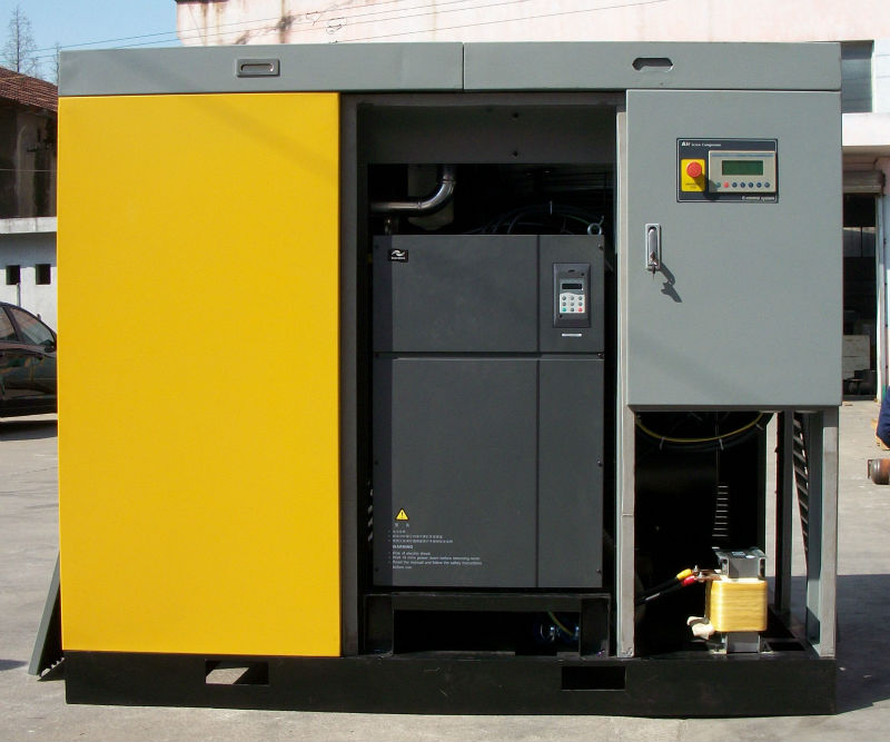 22kw3.5m3/min 3-5bar low pressure screw air compressor