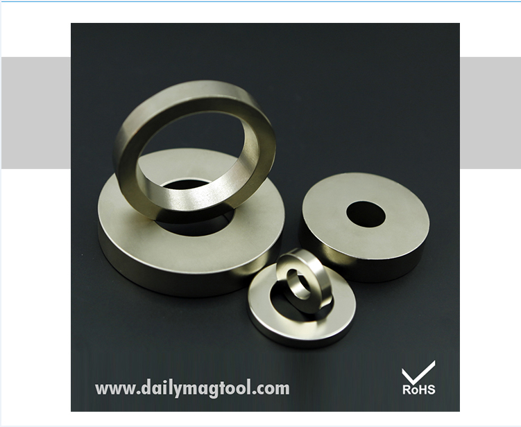 Dailymag Sintered Permanent N52 Disc Countersunk Ring Block NdFeB Neodymium Magnet