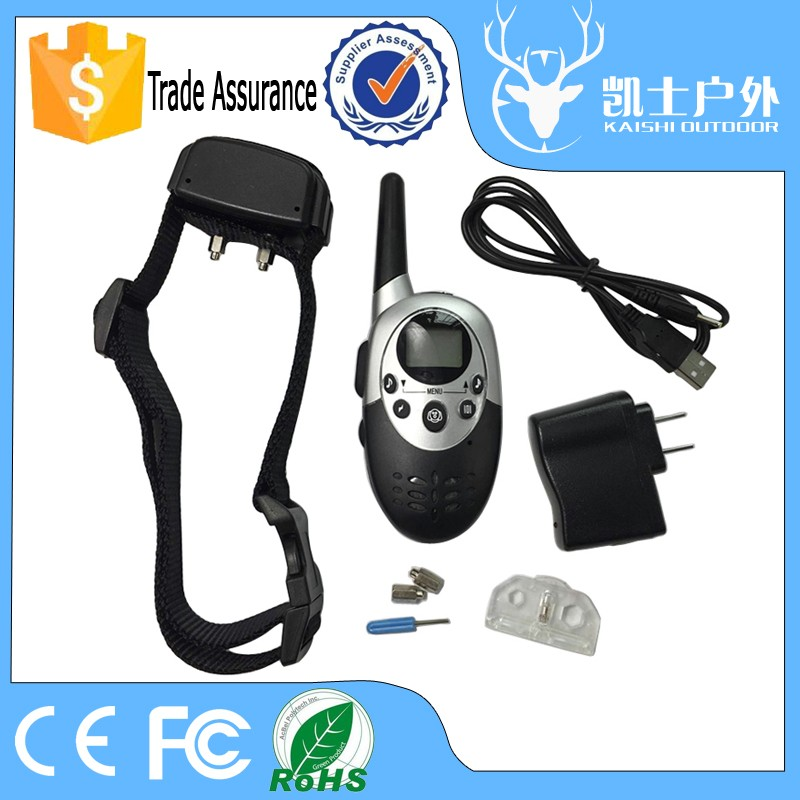 Reasonable Price pet accessories rechargeable dog training collar with adjustable each mode