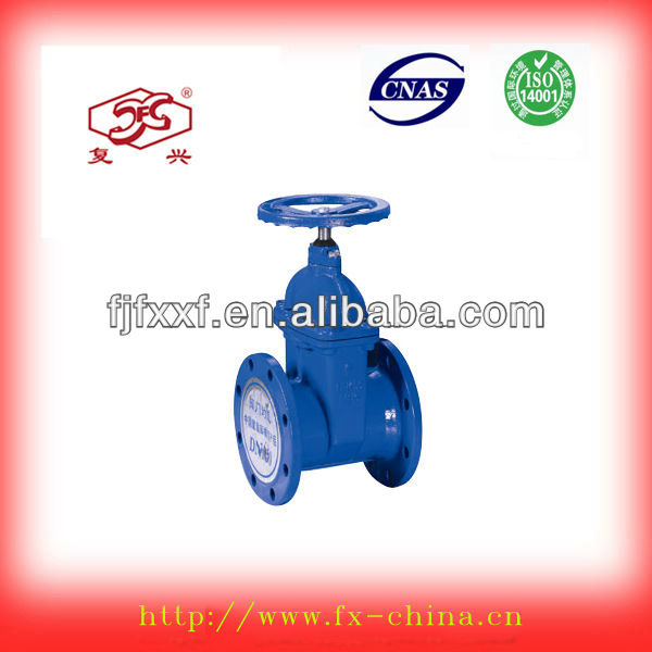 2013 China fire fighting equipment,Non-rising stem soft-sealing gate valve for pvc pipe
