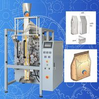 Quad Seal Bag Pet Biscuit Packaging Machine