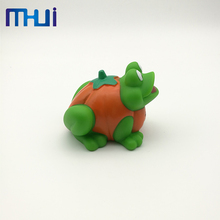 New arrival plastic rubber animal green frog baby bath toy