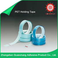 New Style Low Cost Powder Coating Pet Blue Tape /PET Holding Tape