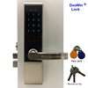 Electronic rf lock swipe card keypad digital safe home lock with USB