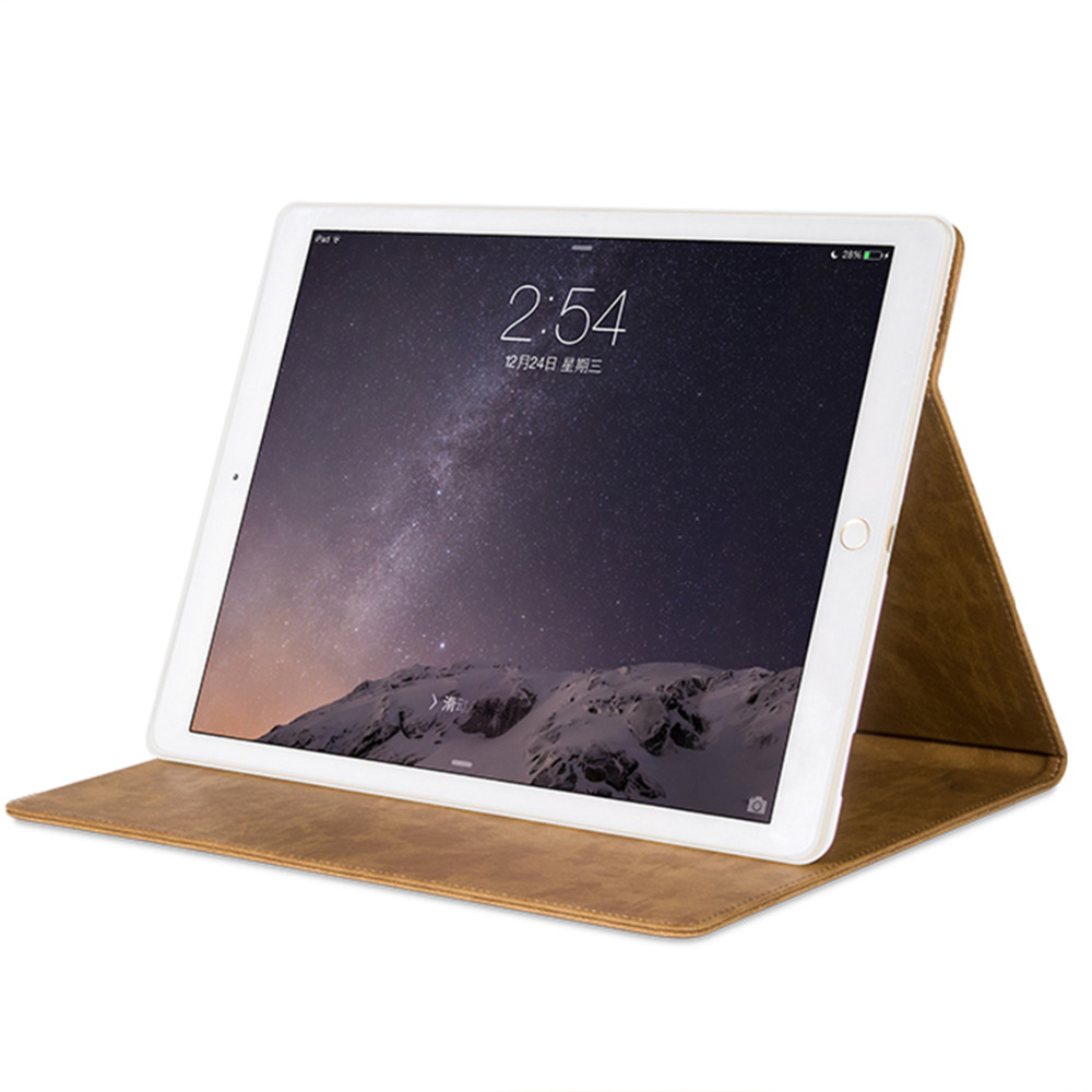 2015 new arrival high quality leather case for tablet 12.9 inch