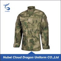 Camouflage ACU army military uniform Ripstop tactical Shirts wholesale