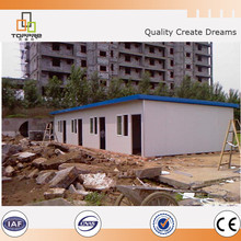 Economic nice flat mobile home prefabricated house with clear looking