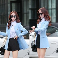 WA9093 2015 women clothes stylish lady casual suit jacket autumn coat