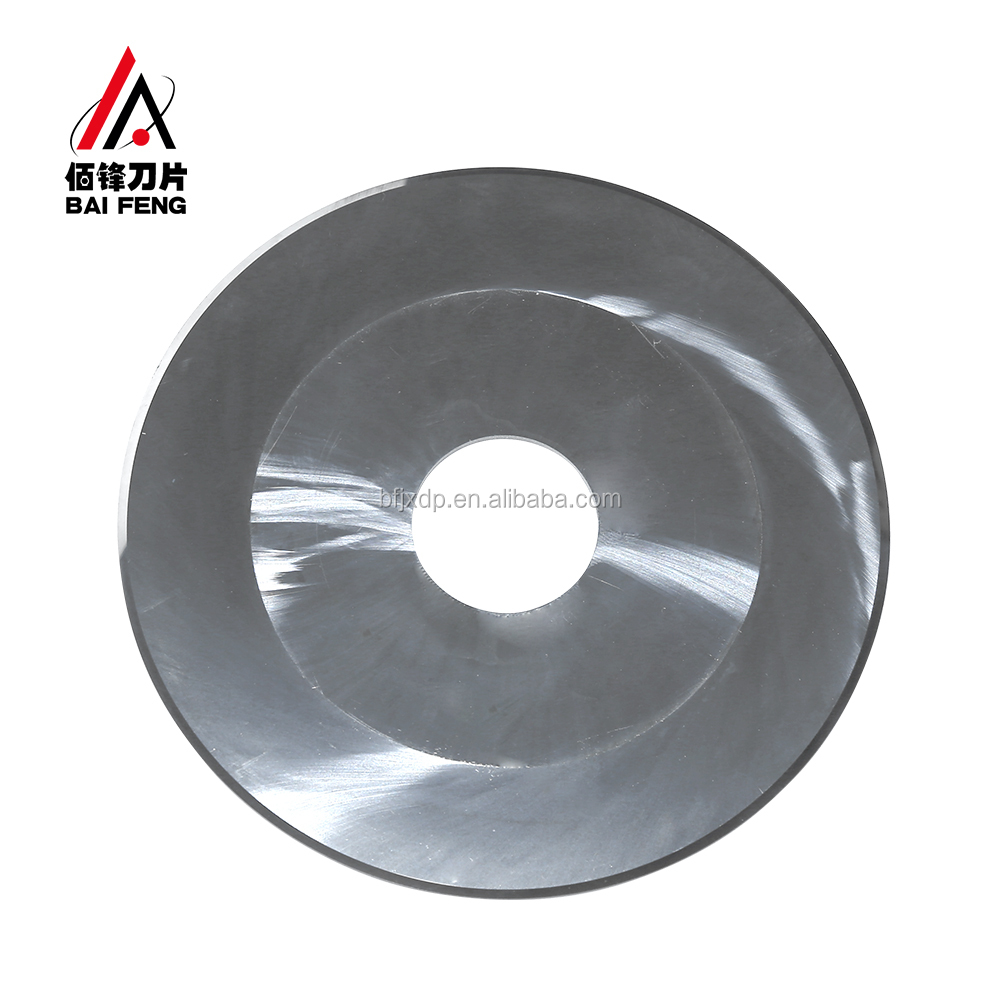 Wholesale Price Round Slitting <strong>Blade</strong> For Cutting Tube Tape