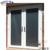 Conch PVC profile Glass door price PVC door exterior door design